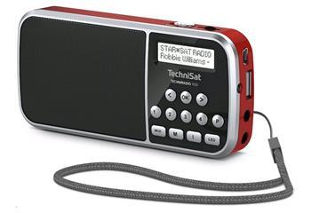 TechniSat TECHNIRADIO RDR DAB+ červené