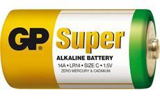 Alkalická baterie GP Super LR14, C