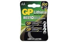 Baterie GP lithiová FR6 (AA) 2 kusy