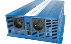 Carspa SK3000 12V/230V 3000W USB / DO, čistá sinusovka