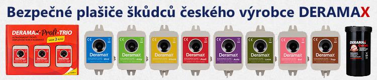 Odpuzovače a plašiče škůdců Deramax