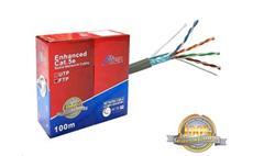 FTP kabel CAT 5E CCA ALIEN 0.5mm 100m