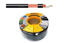 Kabel koaxiální Televes T100 PE 215501 Cu / 100m / 6,6 mm venkovní