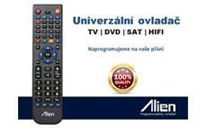 Náhradní dálkový ovladač SATELIT, TELEVIZE, DVD, VCR, HIFI