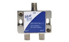 SAT + TV slučovač BlueLine DBL 2.1 vnitřní